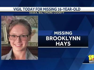 Family holds vigil for missing teen, says they discovered she was talking to strangers online