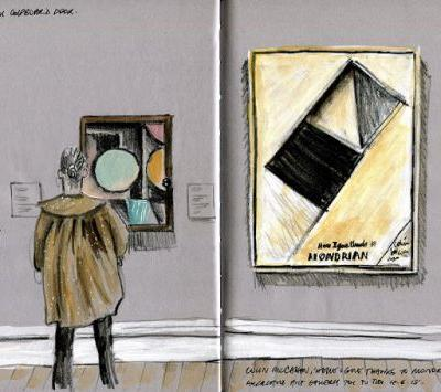 Here I give thanks to Mondrian