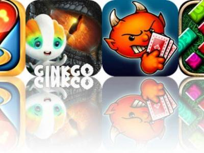 Today's Apps Gone Free: Hearts Tournament, Ginkgo Dino, Spite & Malice and More