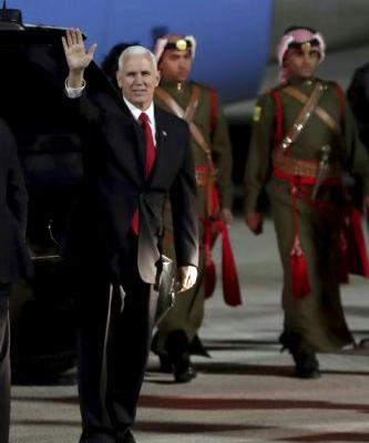 Pence defends Trump's shift in Israeli policies