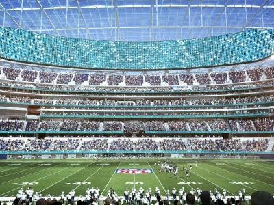 Rams, Chargers ready to sell best seats at new stadium
