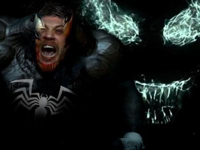 Tom Hardy's Venom Looks Spot On