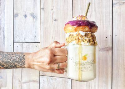 The Peached Tortilla's popular mega milkshakes to return - with donuts