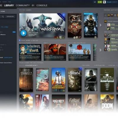 Steam library redesign and events page to streamline the user experience sometime summer