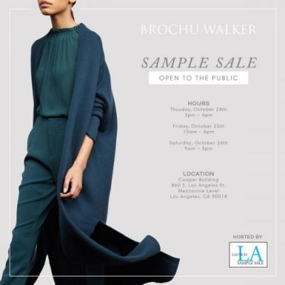 Brochu Walker And D.L. & Co Sample Sale In Los Angeles' Cooper Building, 10/24 - 10/26