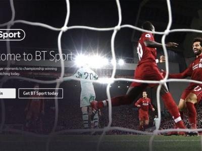 BT Sport now available directly through Apple TV, Xbox One and Samsung TVs