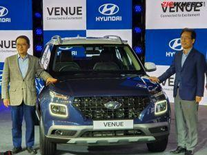 Hyundai Venue Launched In India Priced At Rs 650 Lakh