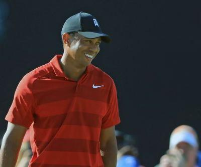Tiger Woods just walked into a sizzling sport and set it aflame