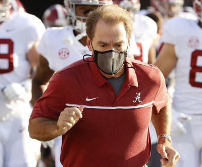 Nick Saban on road to coaching Alabama after negative COVID-19 test