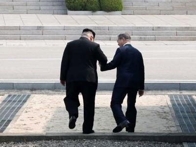 Kim Jong Un went off-script during his meeting with the South Korean president - and that could have big implications for Trump
