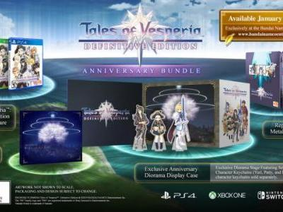 Tales of Vesperia: Definitive Edition Limited Editions Announced for the West