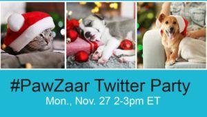 RSVP for Our PawZaar Twitter Party on Cyber Monday!