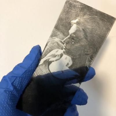 Drypoint Printing at Home without a Press