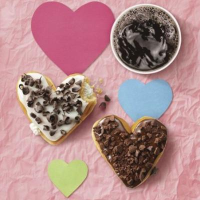 Dunkin' Donuts Shows A Lot of Heart This Valentine's Day as Seasonal Donuts Return