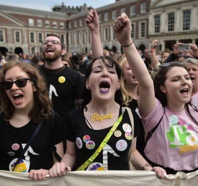 Ireland voted to end its restrictive abortion ban - and people are celebrating the victory