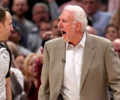 Gregg Popovich fuming after Nuggets rally to even series vs. Spurs