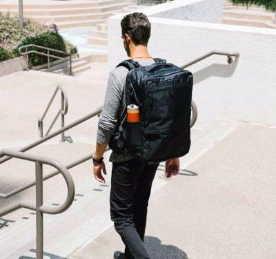 This backpack is the solution to traveling with just a carry-on bag