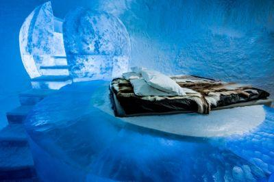 Inside Sweden's Icehotel 365, the World's First Year-Round Ice Hotel