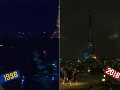 1998 vs 2018: how do France's celebrations compare?