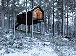 Finland's Kivijarvi Resort cabin that's raised off the ground so guests feel detached from worries