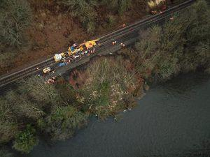 Vital Repairs for Storm-Damaged Dumfries Rail Line Now Underway