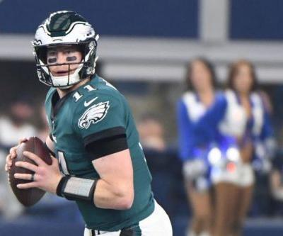 Philadelphia Eagles' Carson Wentz could miss Rams game, rest of season