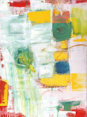 """Contemporary Art, Abstract,Expressionism, Studio 9 Fine Art """"King of Wishful Thinking"""" by International Abstract Artist Amanda Saint Claire"""