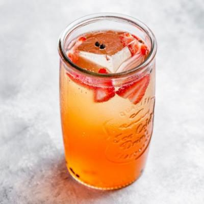 Strawberry Afternoon Cocktail