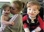 Mother issues a desperate plea as her son needs a new heart before second birthday