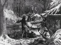 Native Americans making maple sugar described by Chateaubriand