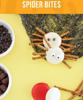 Healthy Halloween Food Ideas {Including Spider Bites}