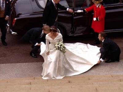 Here's a first look at Princess Eugenie's wedding dress