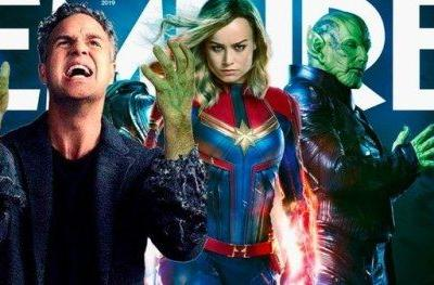 Brie Larson Zings Mark Ruffalo with Captain Marvel Empire Cover