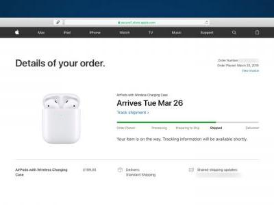 Apple AirPods 2 orders now shipping, delivery from Tuesday