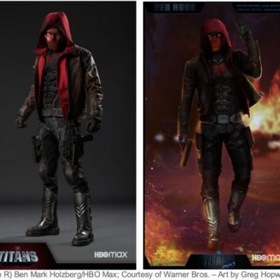 Red Hood Concept Art For Titans Season 3 Shown Off