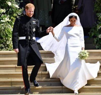 Some people think Meghan Markle's wedding dress was too big for her - but it was probably deliberate
