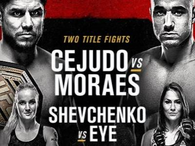 UFC 238 live stream: how to watch Cejudo vs Moraes tonight from anywhere