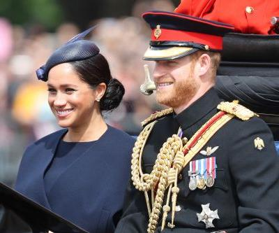 Meghan Markle & Prince Harry's Father's Day 2019 Post Features A New Baby Archie Pic