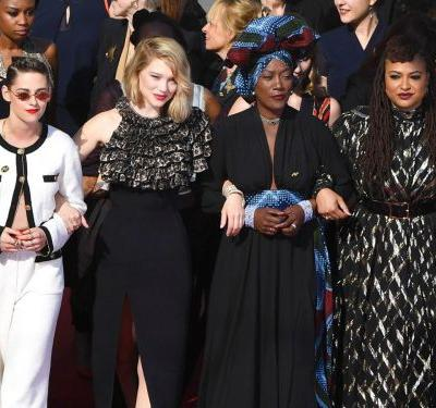 Kristen Stewart, Ava DuVernay & 80 Other Women Staged A Powerful Protest At Cannes