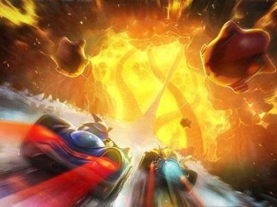 Burn Rubber in the Newest Team Sonic Racing Track