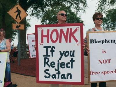'Hail Satan?': Documentary Examines Protest Group That Bedevils Religious Conservatives