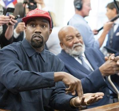 """Kanye West Designs Shirts For Candice Owens' """"Blexit"""" Campaign Encouraging A """"Black Exit"""" From The Democratic Party"""