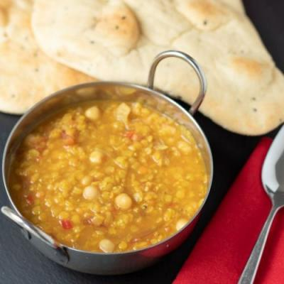 Chickpea and Red Lentil Dahl