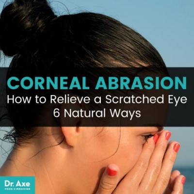 Natural Corneal Abrasion Relief: How to Relieve a Scratched Eye