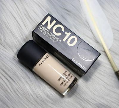 Mac Cosmetics Studio Fix Fluid Foundation In Shade NC 10 | Review, Swatches & Demo