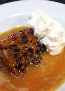 Traditional Christmas Pudding with Rum Sauce