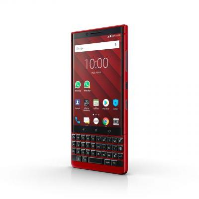 BlackBerry KEY2 Gets Fresh Coat Of Red Paint - MWC 2019