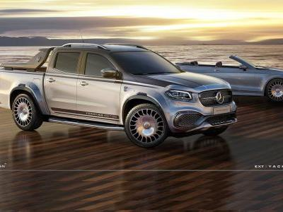 Carlex Design Mercedes-Benz X-Class Yachting Edition Looks Fit For Maybach Customers