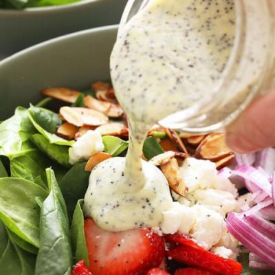 Homemade Poppy Seed Dressing