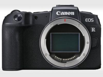 Canon Unveils the EOS RP, the Smallest and Lightest Full-Frame EOS